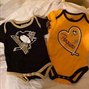 Pittsburgh Penguins onesies